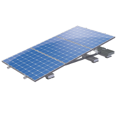 Flat roofs - Solar ramps